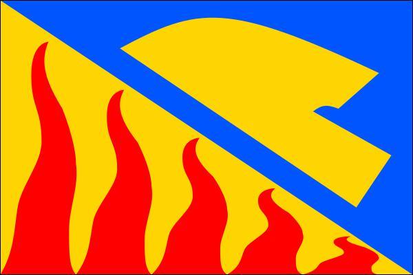 Dobročovice - vlajka
