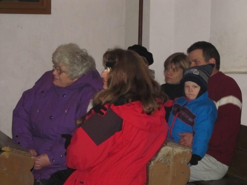 Adventní koncert - kaple sv. ISIDORA Dobročovice - prosinec 2012