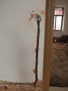 Rekonstrukce místností Dobročovice 38 - 2.část prosinec 2011
