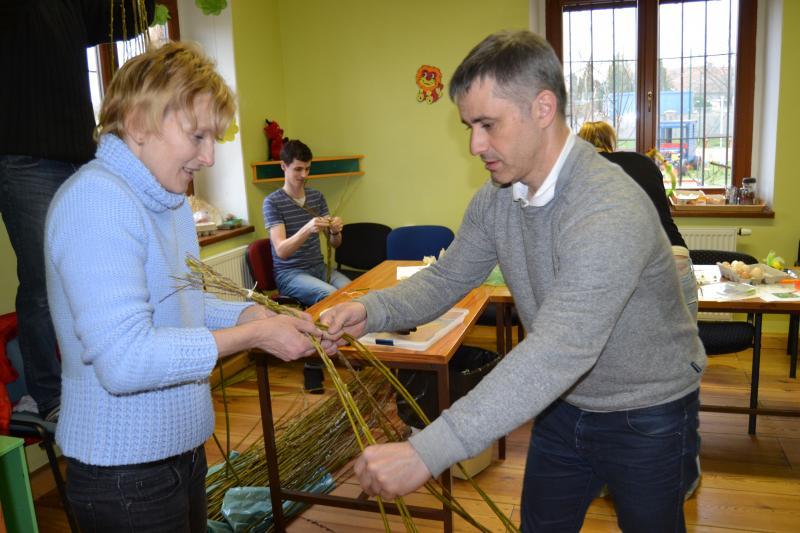 Velikonoční dílničky - Dobročovice - 20.3.2016