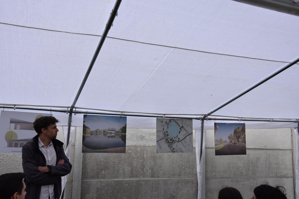 Finální veřejné představení architektonické studie - náves Dobročovice